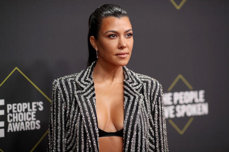 Kourtney Kardashian on the red carpet