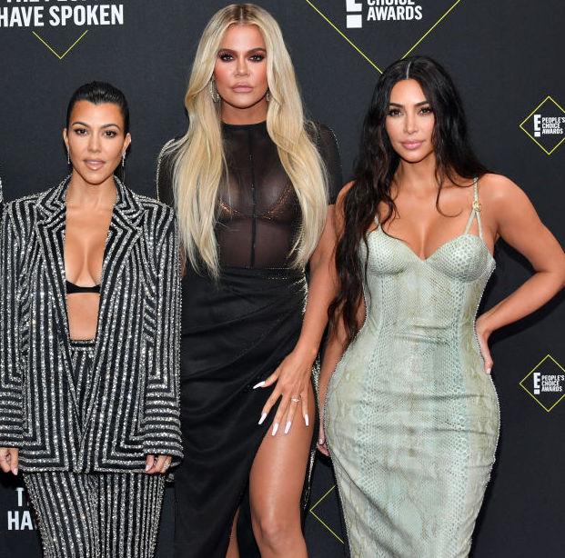 Kourtney, Khloé, and Kim Kardashian