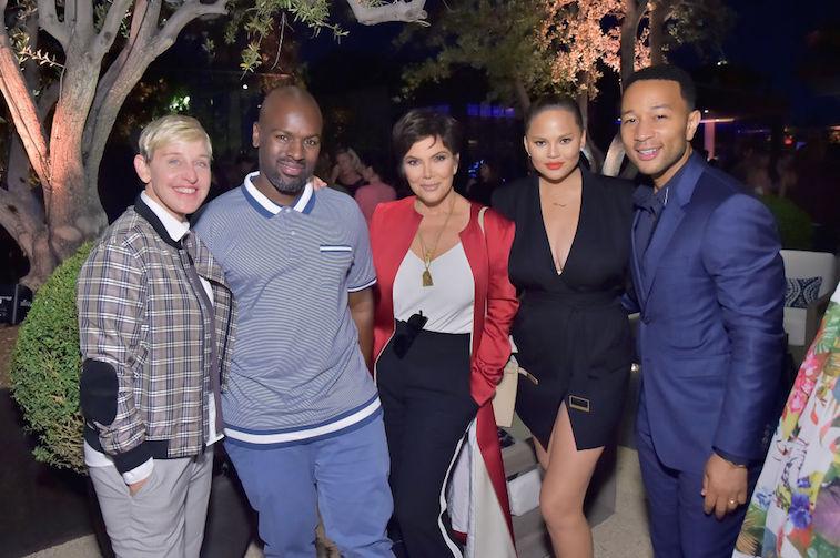 Ellen DeGeneres, Kris Jenner, and Chrissy Teigen all have dogs from the same litter