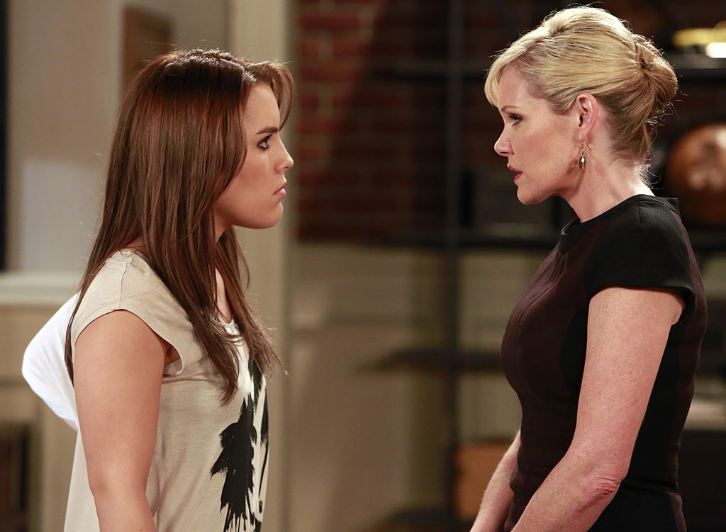 Kristen Alderson and Maura West as Kiki Jerome and Ava Jerome on 'General Hospital' in 2013