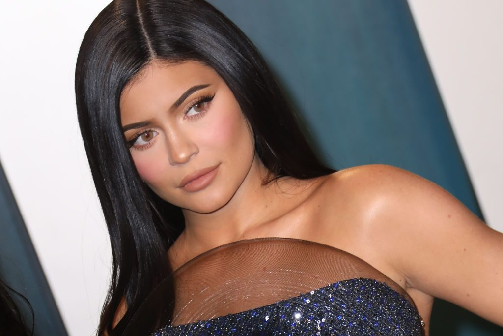 Kylie Jenner on the red carpet in February 2020