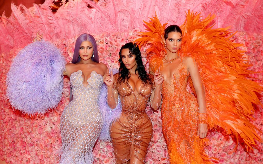Kylie Jenner, Kim Kardashian West, and Kendall Jenner | Kevin Tachman/MG19/Getty Images for The Met Museum/Vogue