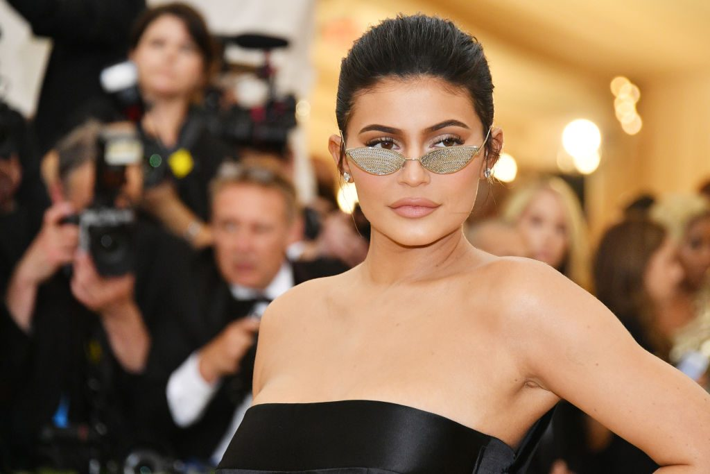 Kylie Jenner attends the Heavenly Bodies: Fashion & The Catholic Imagination Costume Institute Gala