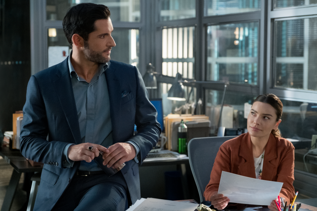 Tom Ellis, Laura German in 'Lucifer'