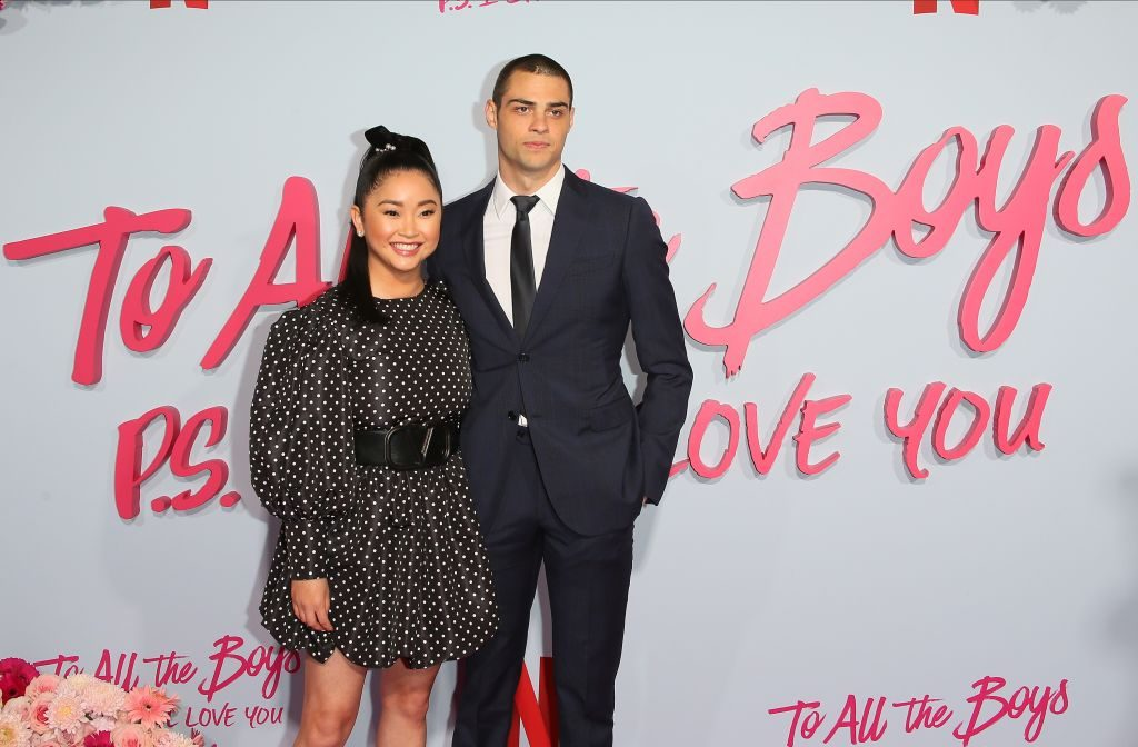 """Lana Condor and Noah Centineo attend the Premiere of Netflix's """"To All The Boys: P.S. I Still Love You"""" at the Egyptian Theatre on February 03, 2020 in Hollywood, California"""