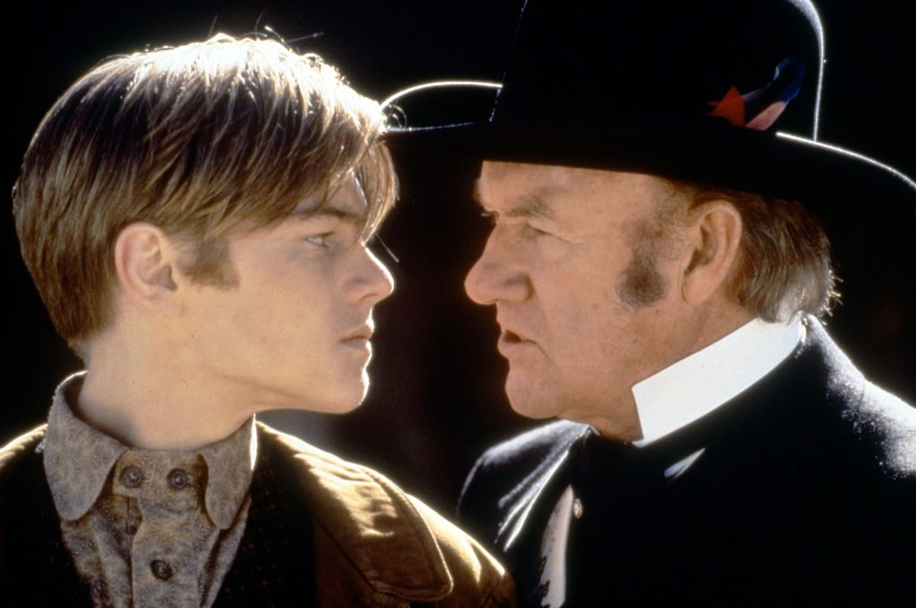 Sam Raimi's the Quick and the Dead: Leonardo DiCaprio and Gene Hackman