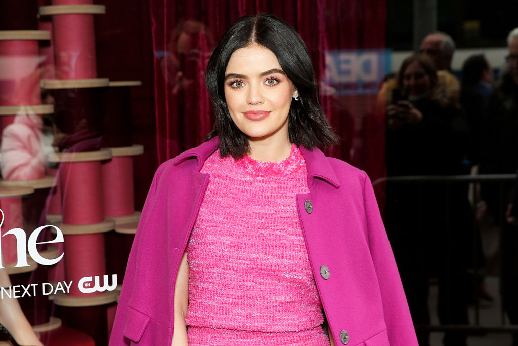 Lucy Hale Truly Doesn T Care That You Don T Like Her Short Hair