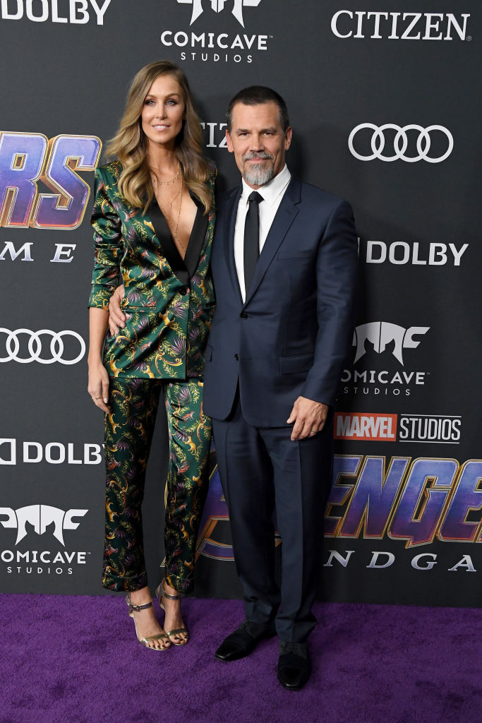 MCU and Thanos star Josh Brolin and Kathryn Boyd