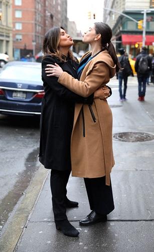 Mariska Hargitay and Jamie Gray Hyder