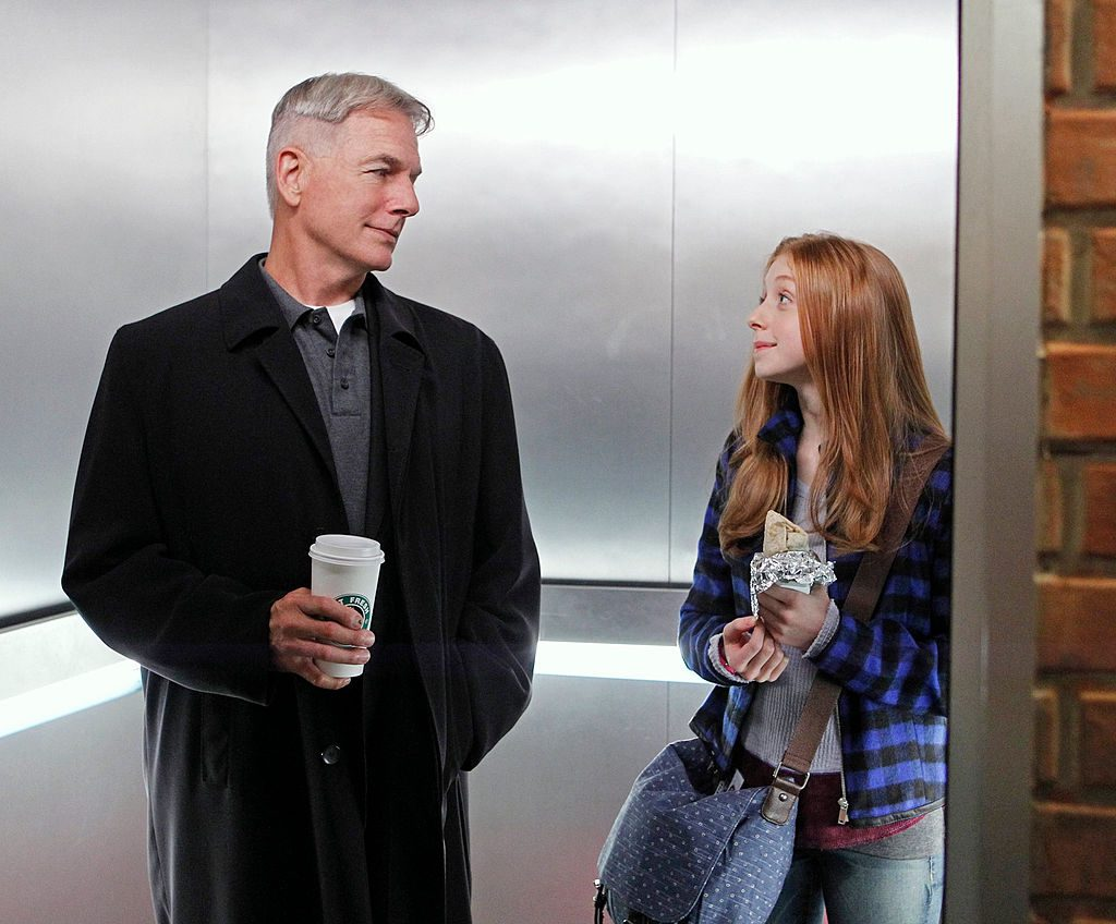 Mark Harmon and Juliette Angelo |  Sonja Flemming/CBS via Getty Images