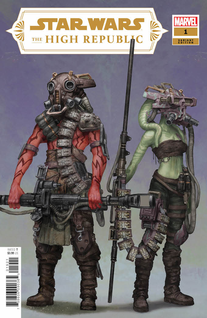 The concept art for the Marvel cover, Project Luminous.