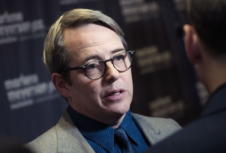 Matthew Broderick on the red carpet
