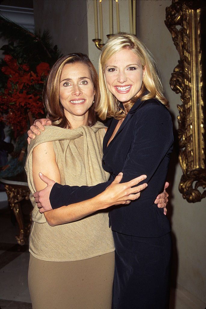 Meredith Viera and Debbie Matenopolous at party for Traditional Home