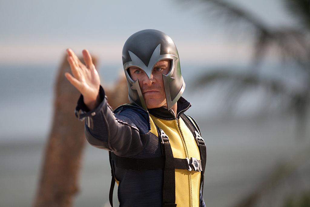 Michael Fassbender as Magneto of the X-Men