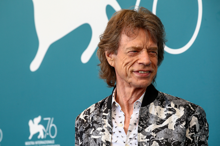 Mick Jagger on the red carpet