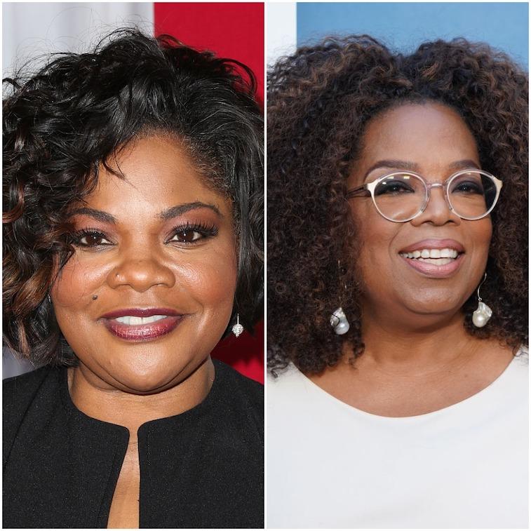 Mo'Nique and Oprah Winfrey 2020