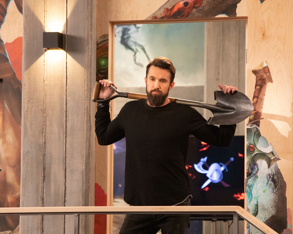 It's Always Sunny in Philadephia co- creator Rob McElhenney in Mythic Quest