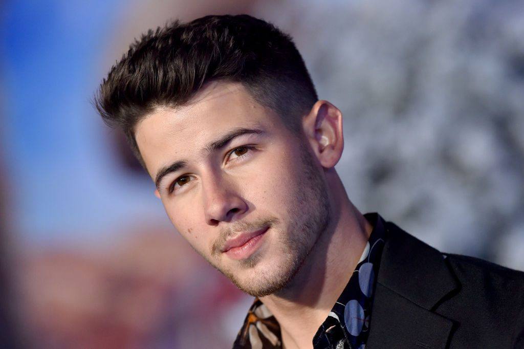 Nick Jonas on the red carpet in 2019