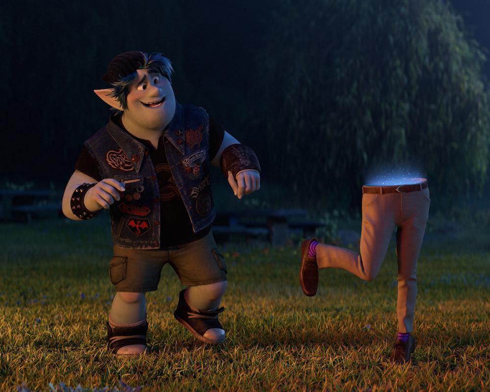 Chris Pratt voices Barley in Onward