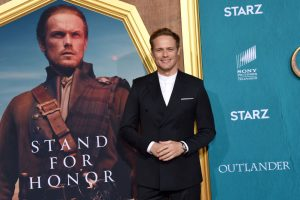 'Outlander' Star Sam Heughan Admits To Struggling With Some of His Co-Stars