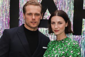Does 'Outlander' Star Caitriona Balfe Picture Sam Heughan When She Reads Their Steamy Scenes?