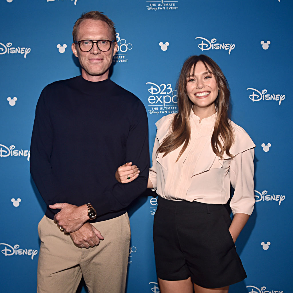 Paul Bettany and Elizabeth Olsen