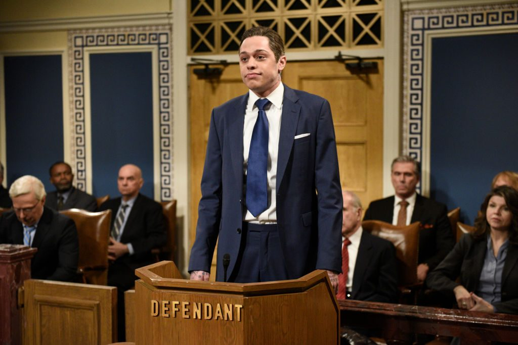"Pete Davidson as Hunter Biden during the ""Impeachment Fantasy"" Cold Open"