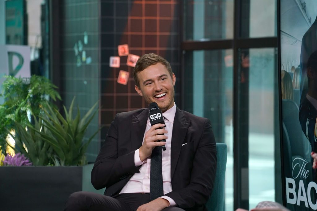 """Peter Weber attends Build Series to discuss """"The Bachelor"""" at Build Studio on February 04, 2020 in New York City"""