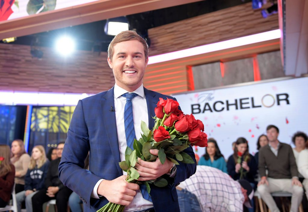 """Peter Weber of """"The Bachelor"""" is a guest on """"Good Morning America,"""" Monday, January 6, 2020 on ABC."""