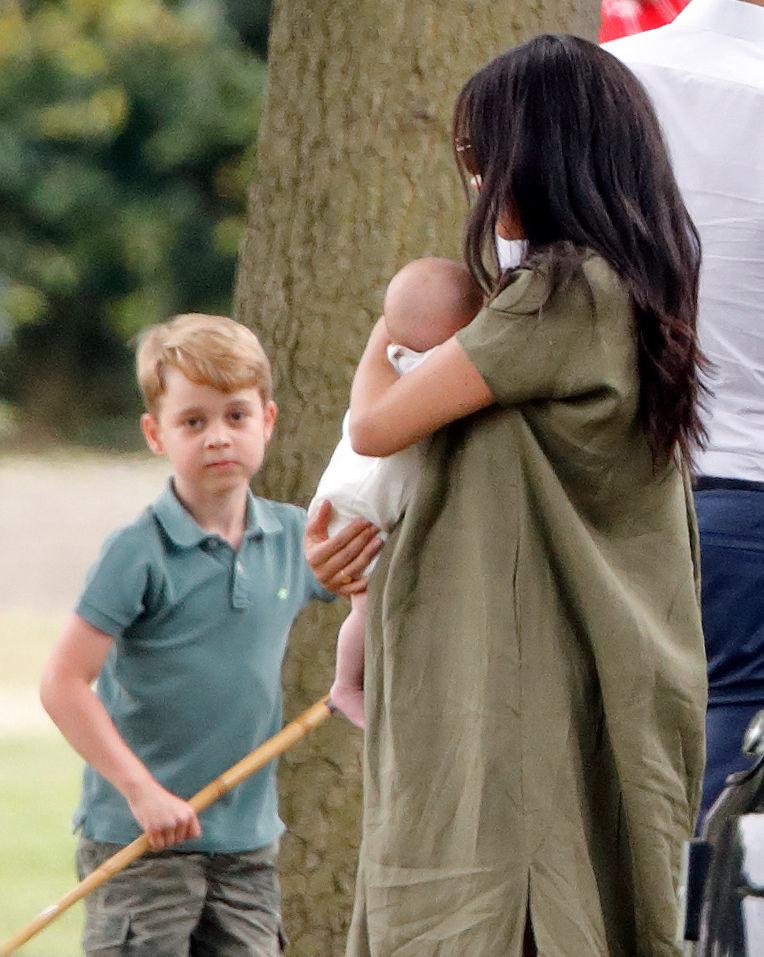 Prince George, Kate Middleton, Archie, Meghan Markle