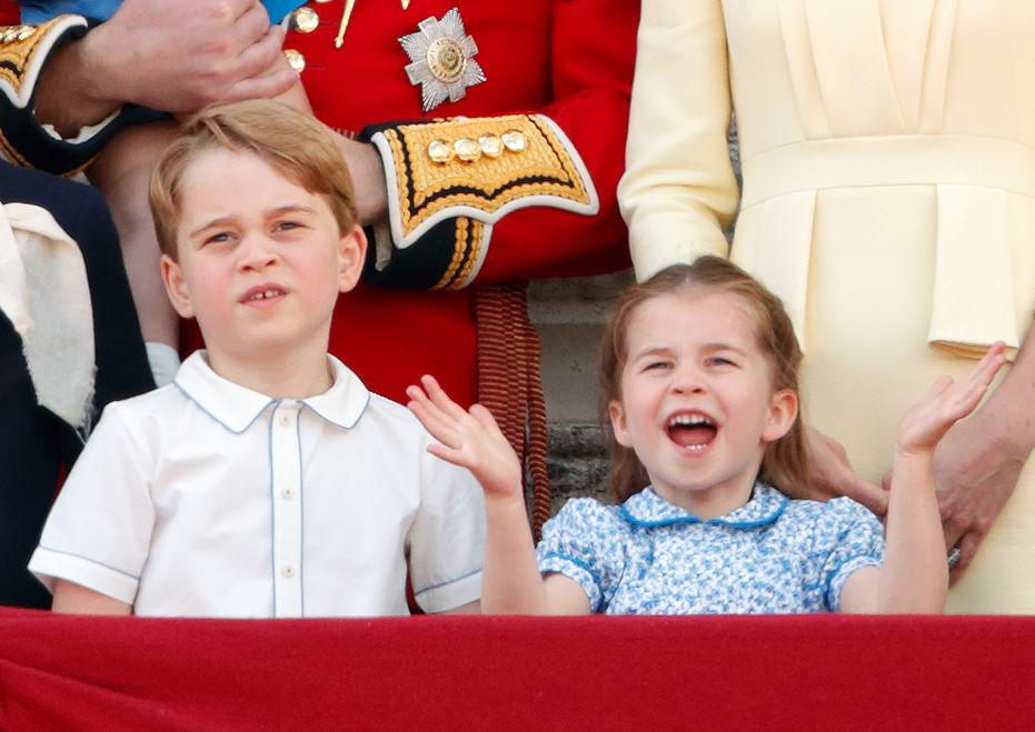 Prince George or Princess Charlotte