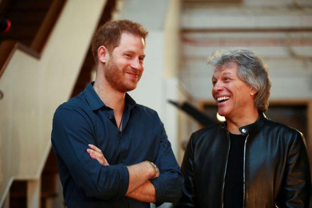 Prince Harry Jon Bon Jovi