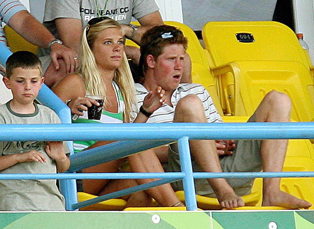 Prince Harry and Chelsy Davy