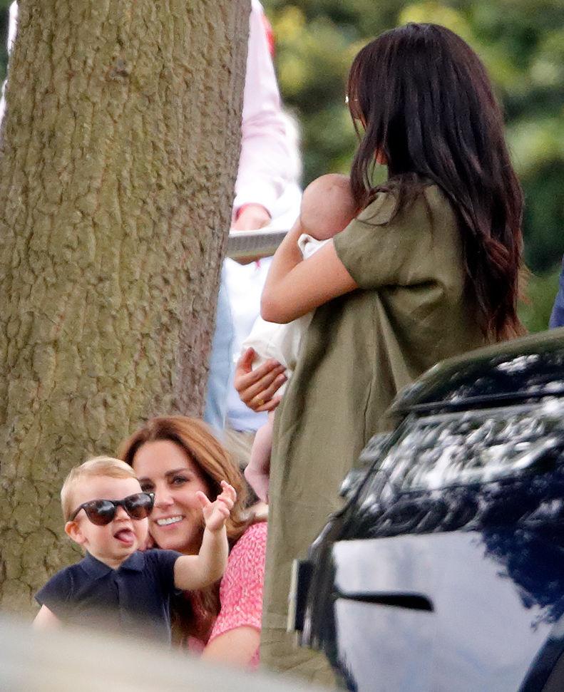 Prince Louis, Kate Middleton, Archie, Meghan Markle