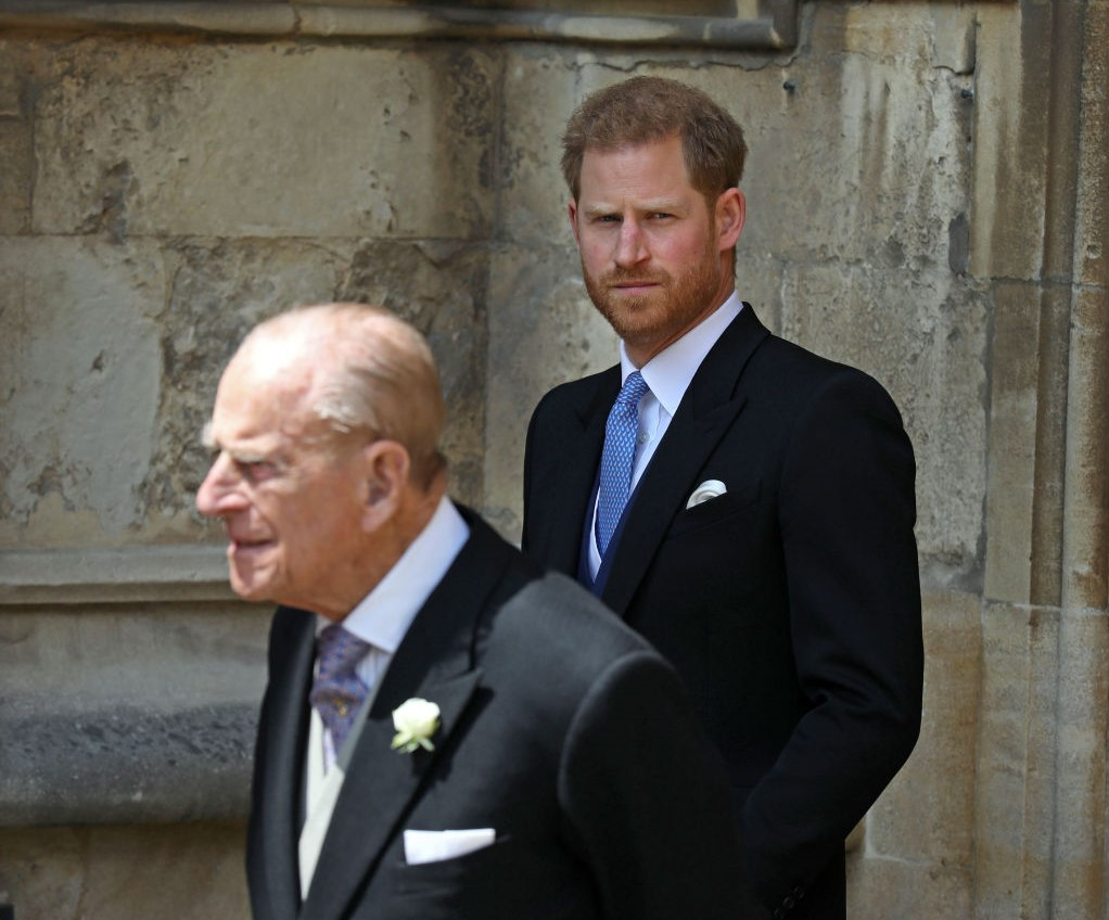 Prince Philip and Prince Harry