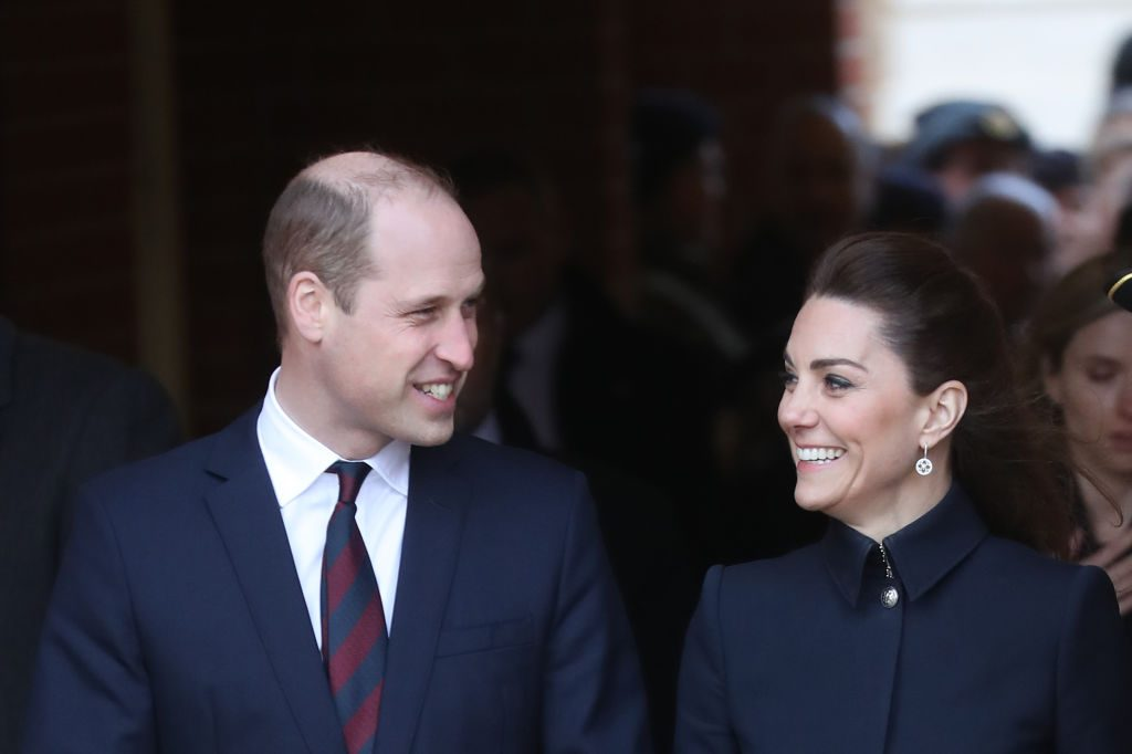 Prince William and Kate Middleton depart the Defence Medical Rehabilitation Centre, Stanford Hall