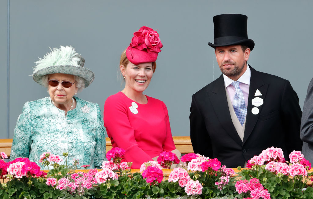Queen Elizabeth, Peter Phillips, Autumn Phillips
