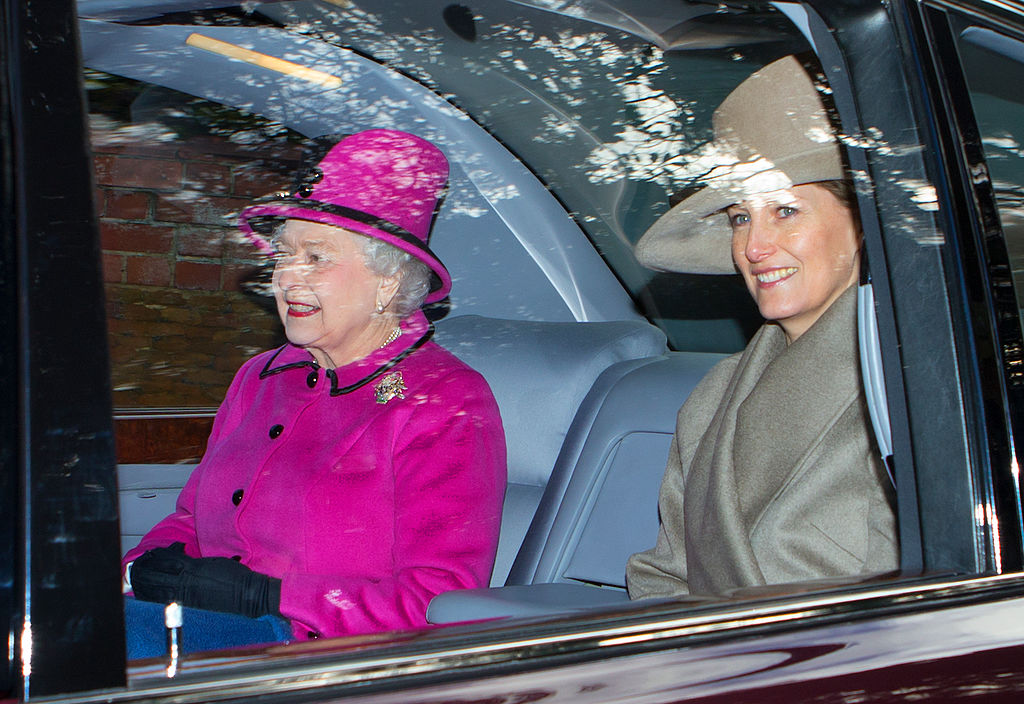 Queen Elizabeth and Sophie, Countess of Wessex
