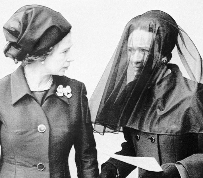 Queen Elizabeth and Wallis Simpson