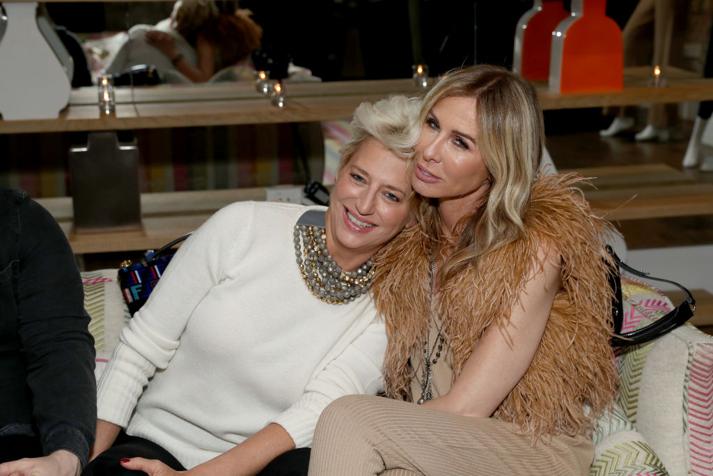 Dorinda Medley and Carole Radziwill