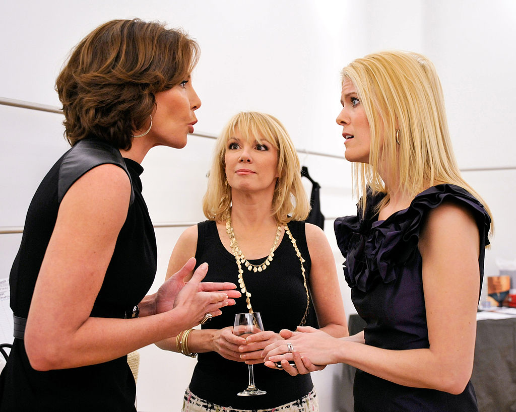 LuAnn de Lesseps, Ramona Singer, and Alex McCord
