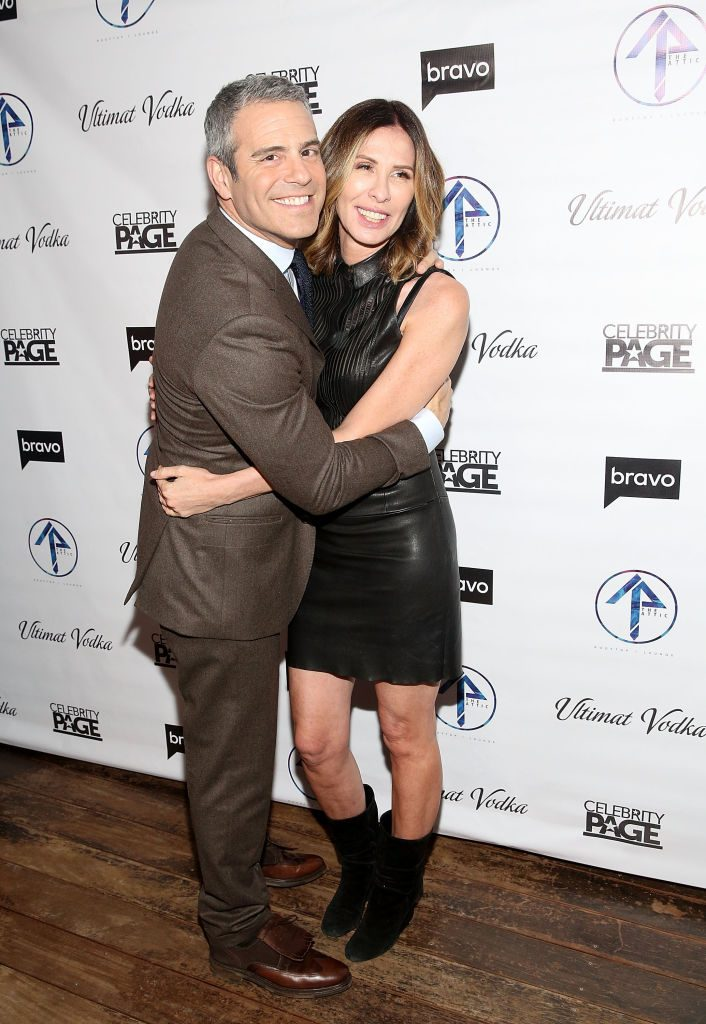 """Andy Cohen and Carole Radziwill attend """"The Real Housewives Of New York City"""" Season 9 Premiere Party"""