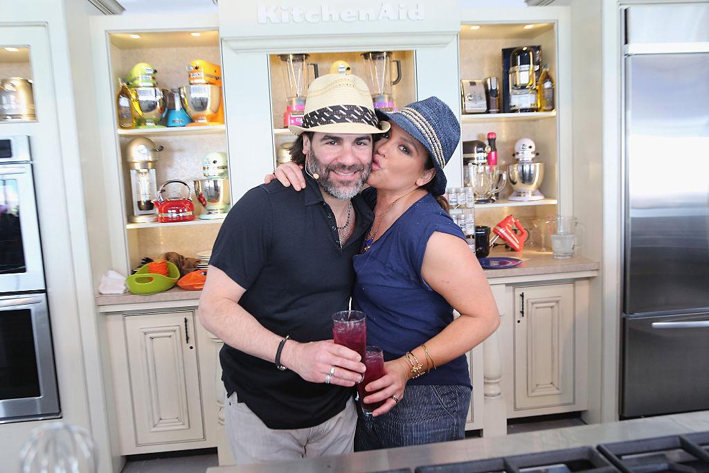 Rachael Ray and John Cusimano