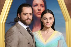 The Stars of 'Outlander' Talk About the Unforgettable Wedding in the Season 5 Premiere