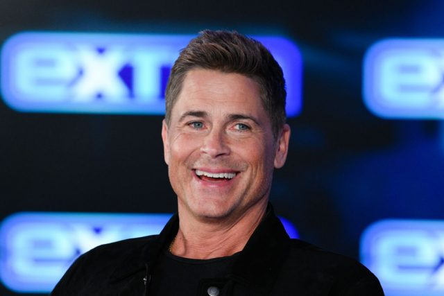Rob Lowe visits 'Extra' on Jan. 13, 2020