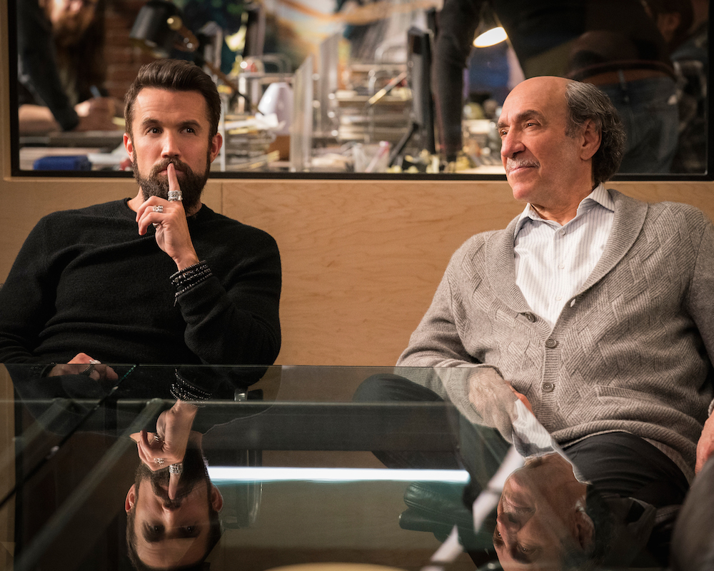Rob Mcelhenney and F. Murray Abraham