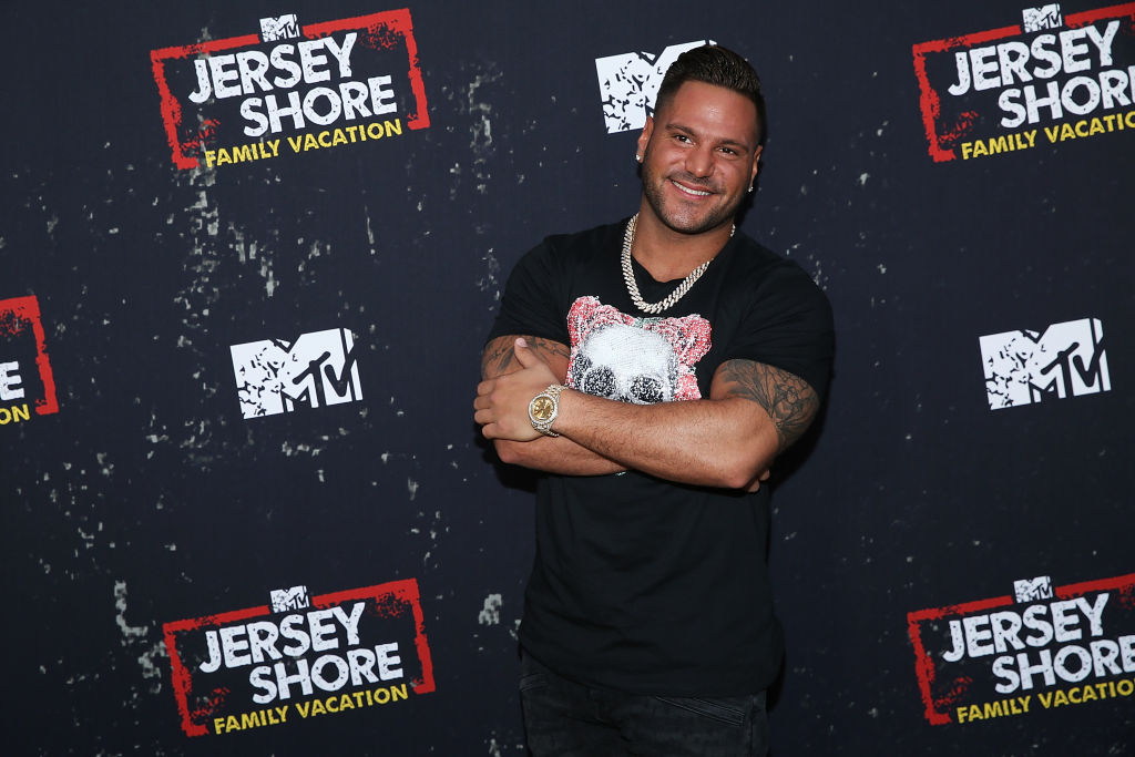"""Ronnie Ortiz-Magro attends the """"Jersey Shore Family Vacation"""""""