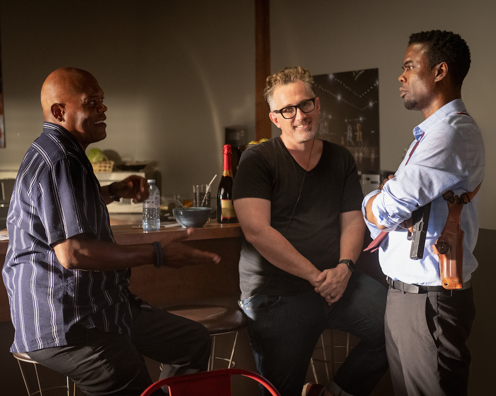 Spiral: Samuel L. Jackon, Darren Lynn Bousman and Chris Rock