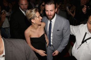 Chris Evans and Scarlett Johansson Could Be Starring in Yet Another Movie Together