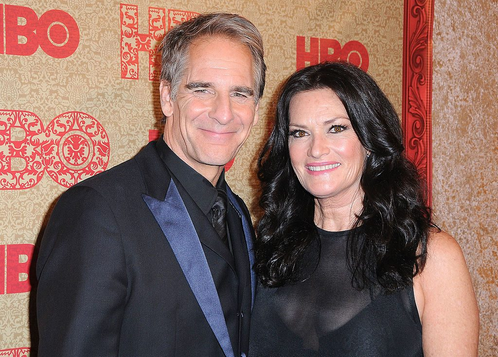 Scott Bakula and wife actress Chelsea Field attend HBO's Golden Globe Awards in 2014 | Barry King/FilmMagic
